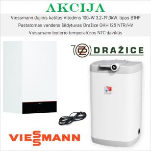 Akcijinis Viessmann ir Dražice šildymo įrangos komplektas