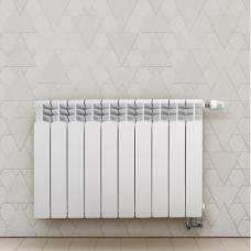 Aliumininis radiatorius apatinio pajungimo GAVIA 50/D 10 sekc.