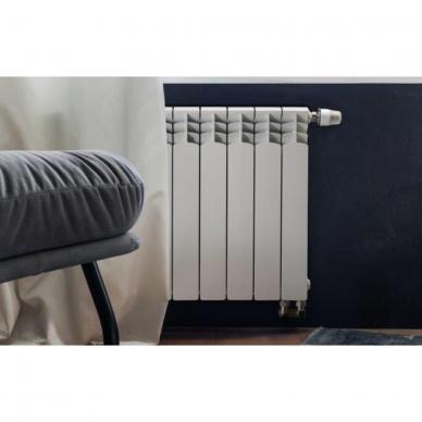 Aliumininis radiatorius apatinio pajungimo GAVIA 50/D 10 sekc. 2