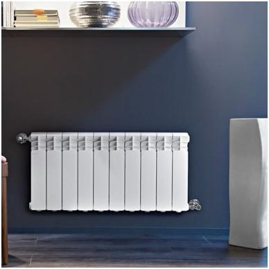 Aliumininis radiatorius Fondital Exclusivo 350, 10 sekcijų 3
