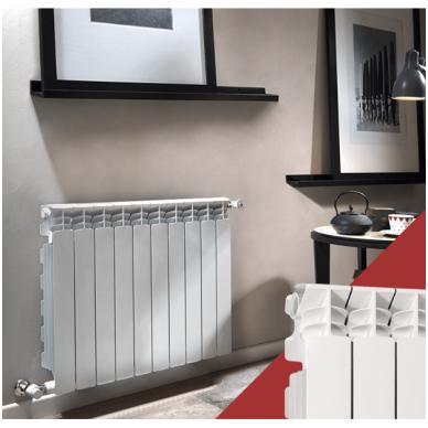 Aliumininis radiatorius Fondital Exclusivo 500, 8 sekcijos 4