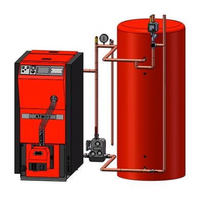 Atmos granulinis katilas D10PX 10kW 6