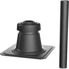 Bosch šachtos išvestis Ø80, juoda