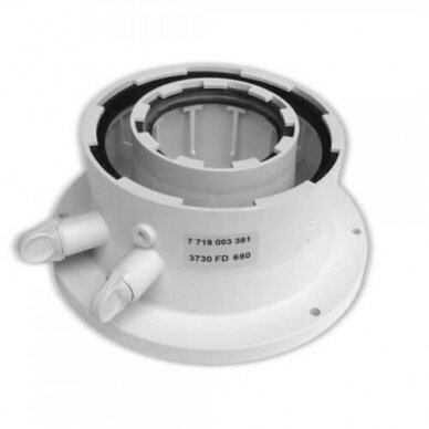Bosch išmetamųjų dujų katilo adapteris Ø60/100