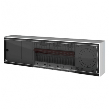 Danfoss Icon™ 24V grindų šildymo valdiklis, 10 zonų 088U1071