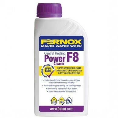 Fernox ploviklis Power Cleaner F8 500ml