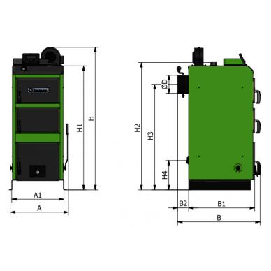 Kamen WG 50 kW su el.valdymu 2