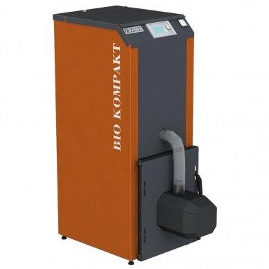 Kompaktiškas granulinis katilas Bio Kompakt 20kW