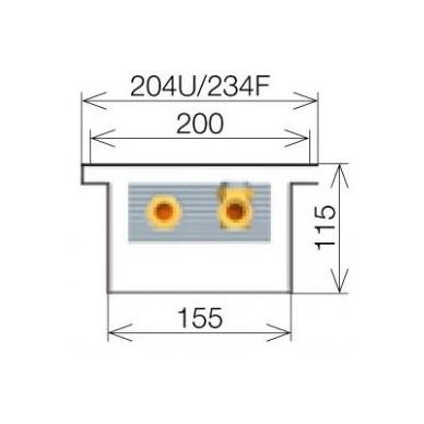 Licon konvektorius grindinis PK-100/11/20 4
