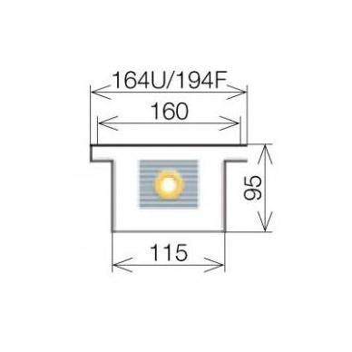 Licon konvektorius grindinis PK-100/9/16 4