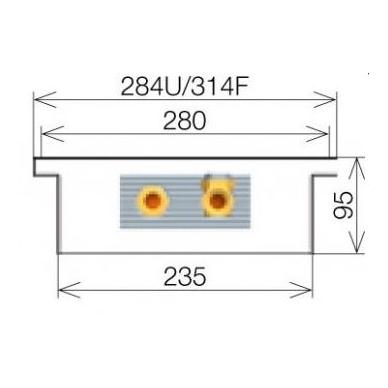 Licon konvektorius grindinis PK-160/9/28 4