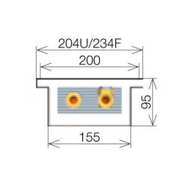 Licon konvektorius grindinis PK-220/9/20 4