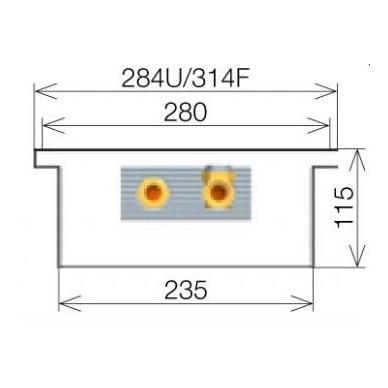 Licon konvektorius grindinis PK-240/11/28 4