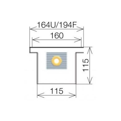 Licon konvektorius grindinis PK-260/11/16 4