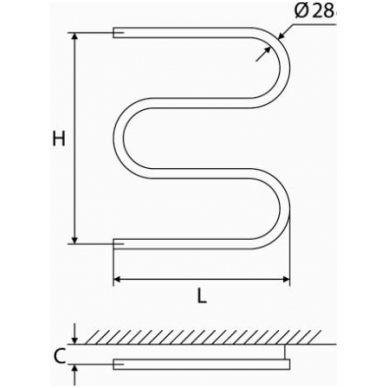 Nerūdijančio plieno gyvatukas Elonika EN 400 S 2