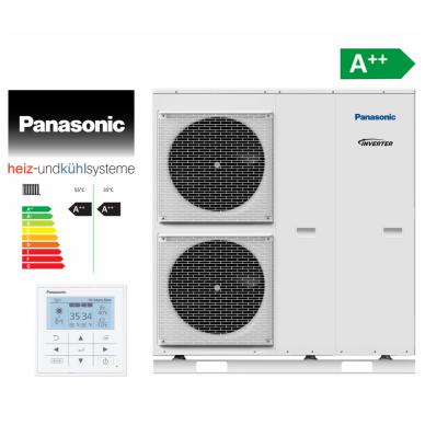 Panasonic Aquarea šilumos siurblys Mono-Bloc T-CAP 9kW 2