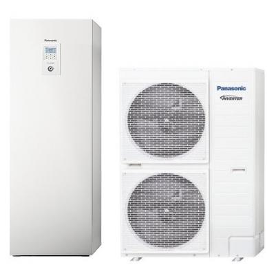 "Panasonic Aquarea šilumos siurblys ""viskas viename"" T-CAP 12kW"
