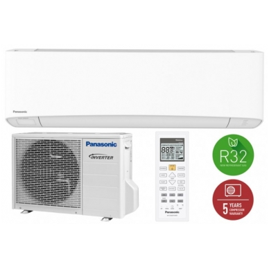 Panasonic šilumos siurblys Etherea 3,4/2,5kW