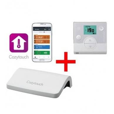 Priedas valdymui internetu Cozytouch ir patalpos termostatas
