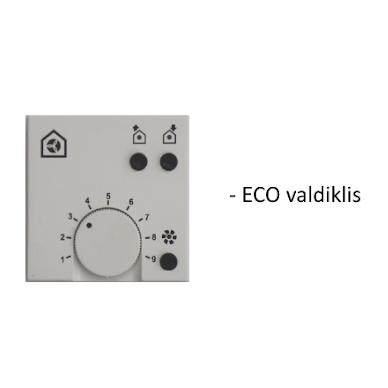 Rekuperatorius Zehnder Paul Climos 200 ECO F ERV dešininis 5