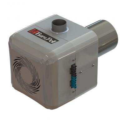 Rotacinis granulių degiklis BurnPell EVO Micro 16 kW