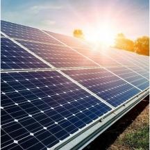 Saulės elektrinių montavimas