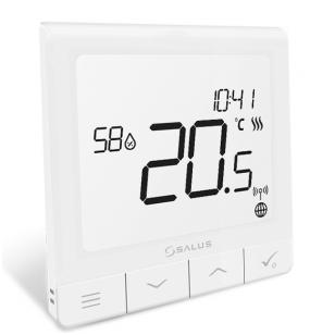 Salus Smart Home sistemos Quantum termoreguliatorius SQ610