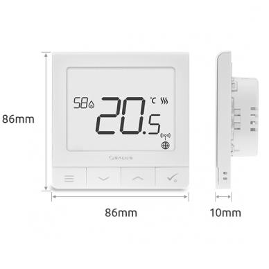 Salus Smart Home sistemos Quantum termoreguliatorius SQ610 2