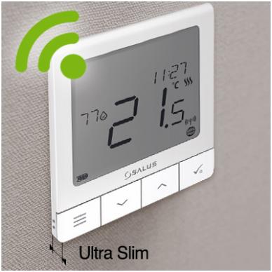 Salus Smart Home sistemos Quantum termoreguliatorius SQ610 3